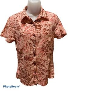 Patagonia Vintage Button Down Short Sleeve Top 8